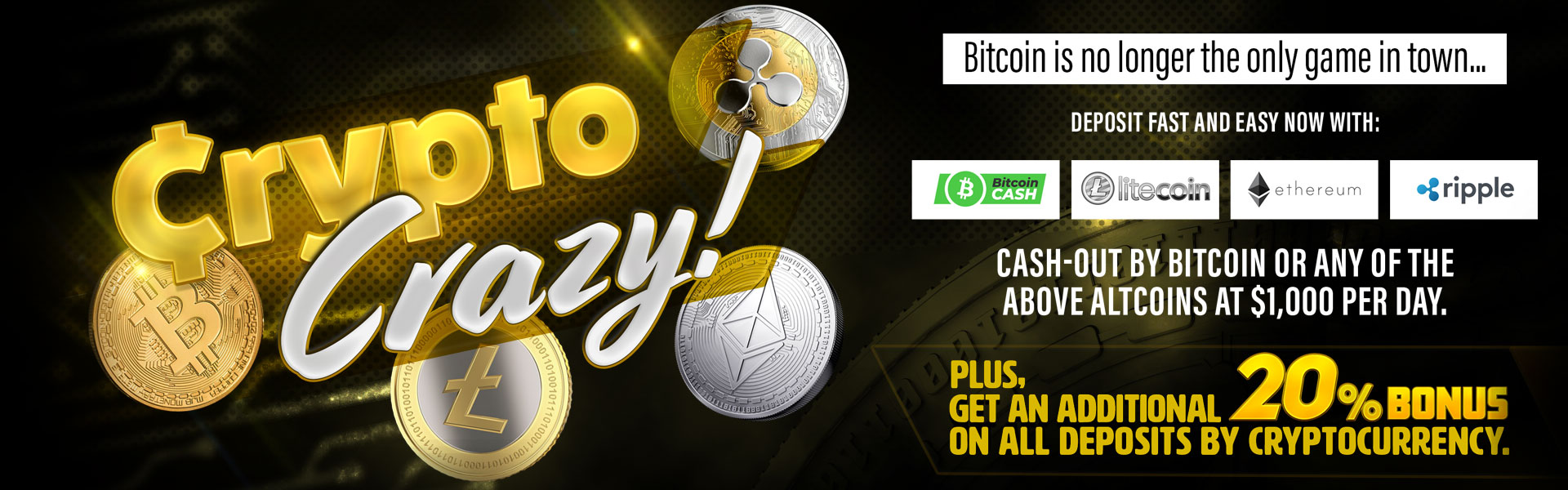 CryptoCrazy Promotion