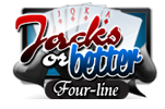 Jacks or Better Four-Line